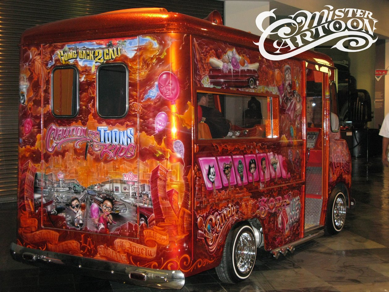 Ice Cream Truck Mr Cartoon Know The Ledge